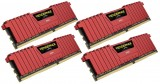 CORSAIR DDR4 VENGEANCE LPX 16GB  / 2133 (4*4GB) RED  CL13-15-15-28
